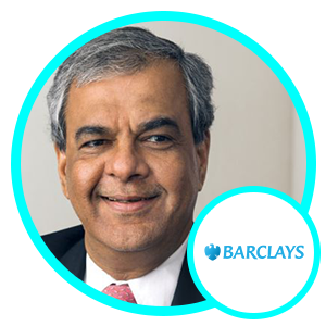 Ashok Vaswani, CEO, Barclays Bank