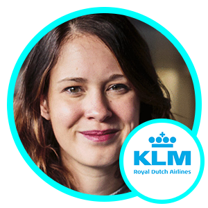Martine Van der Lee, Director Social Media, KLM Royal Dutch Airlines