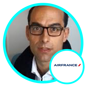 Nicolas Forgues, CTO, Air France
