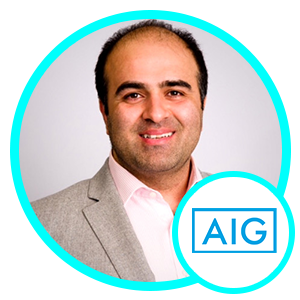Reza Khorshidi, Chief Scientist, Global, AIG