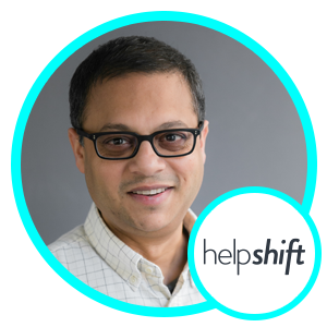Abinash Tripathy, Founder and Strategy, Helpshift