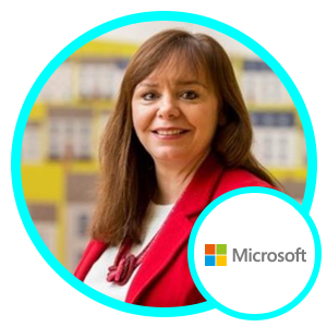 Angela Evans, Business Group Lead, Microsoft