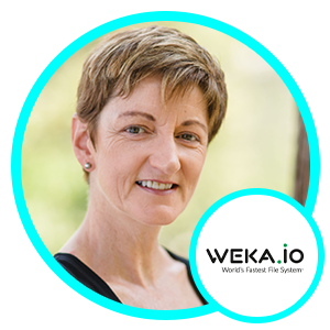 Barbara Murphy, Vice President of Marketing, WekaIO