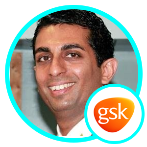 Rajvir Madan, VP Digital, Data Analytics and Innovation, Consumer Healthcare Tech, GSK