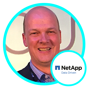 Grant Caley, UK and Ireland Chief Technologist, NetApp