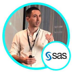 Iain Brown, Head of Data Science, SAS