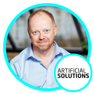 Russ Tarr, VP Sales EMEA, Artificial-Solutions