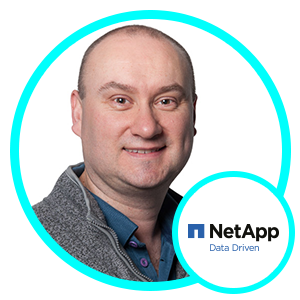 Steve Rackham, Senior Solutions Engineering Manager, NetApp