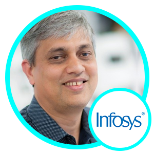 Sudhir Jha, SVP and Global Head of Product, Management and Strategy, Infosys