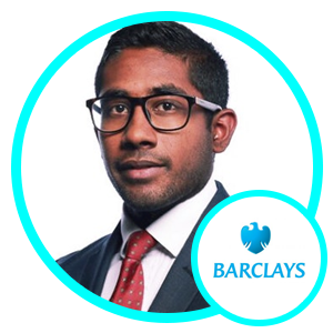Ajwad Hashim, Innovation Lead-CIBD Technology, Barclays