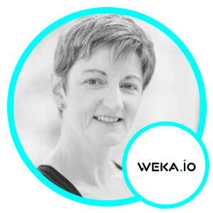 Barbara Murphy, VP of Marketing, WekaIO