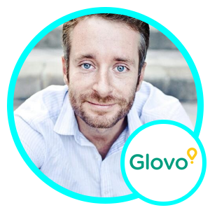 Bartek Kunowski, VP of Product and Technology, Glovo