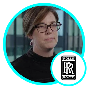 Caroline Gorski, Group Director-R Data Labs, Rolls Royce