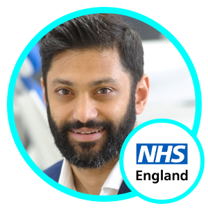 Sam Shah, Director of Digital Development, NHS England