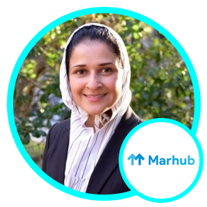 Sarrah Nomanbhoy, Founder and CEO, Marhub
