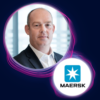 Adam Banks, Chief Technology and Information Officer, Maersk