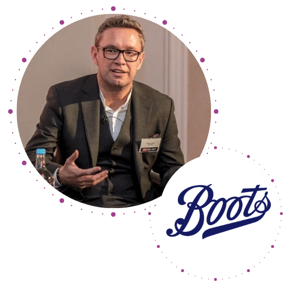 Rich Corbridge, CIO, Boots